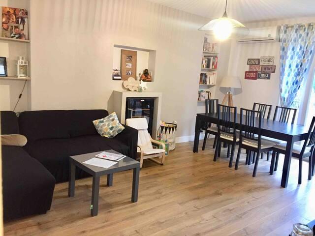 Appartement chaleureux à proximité de Lyon