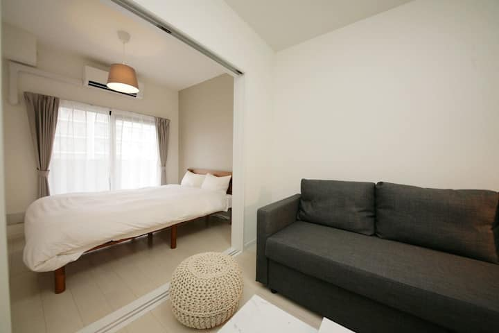 MP-A05) WIFI ♪ 1 double bed ♪ 1 sofa bed ♪ 4PPL 906