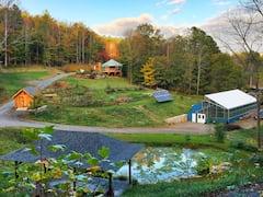 Cozy+Yurt+in+the+Blue+Ridge+near+Asheville%2C+NC