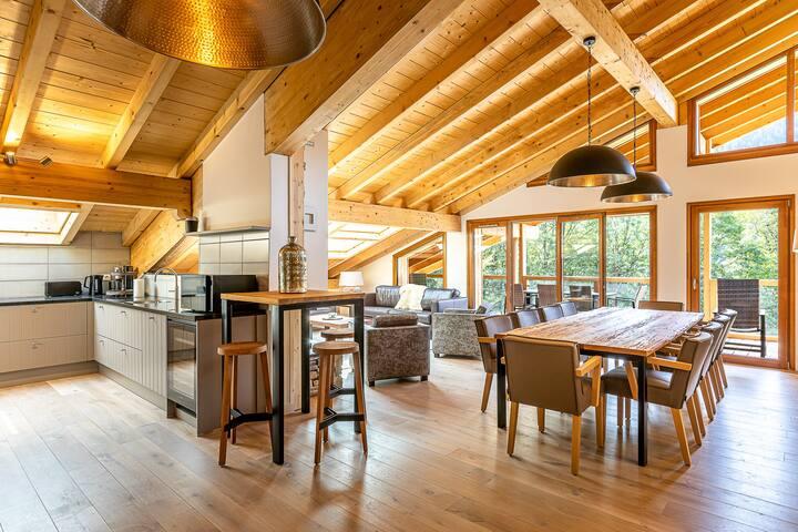 Luxe penthouse voor 8 personen