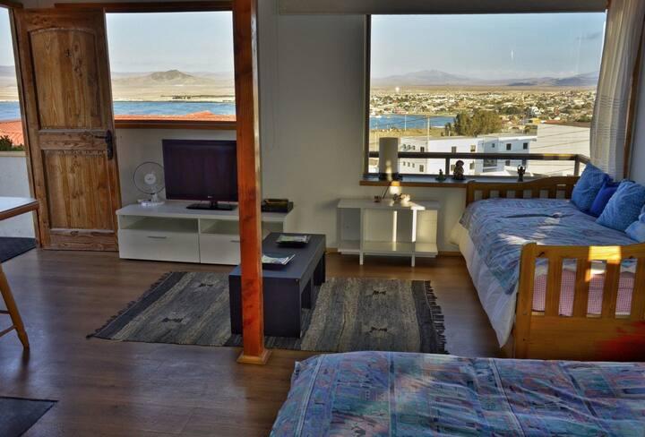 Maravillosa vista al mar en Casa El Faro, Caldera.