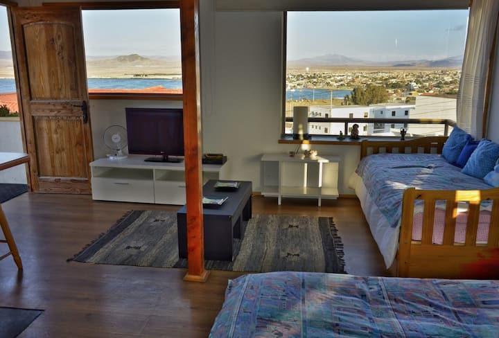 Maravillosa vista al mar en Casa El Faro.