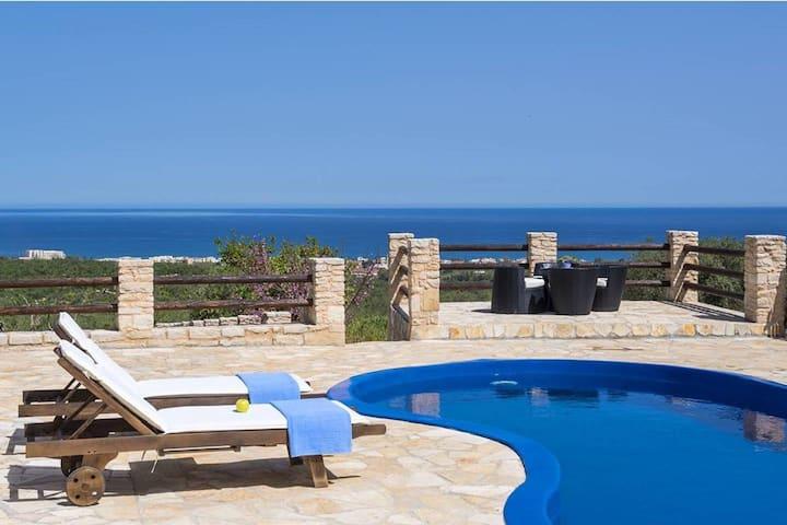 Grecian Villas - Dias Seaview Villa With Private Pool