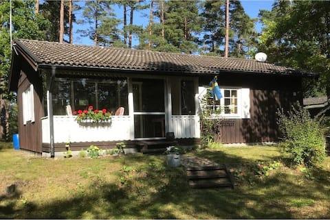 Nice cottage on Lake Bolmen.