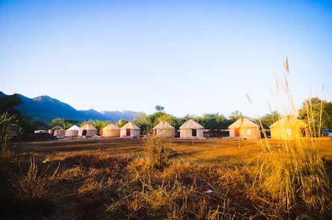 Bikamp Aravallis Camp Resort, Sariska