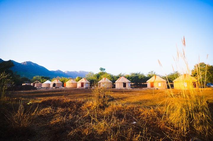Bikamp Aravallis Camp Resort, Sariska