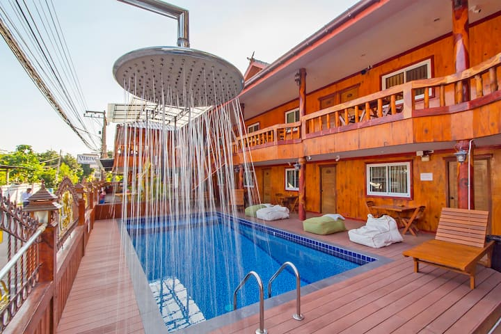 ⭐Villa Ragnar 28BR with Pool Near Walking Street