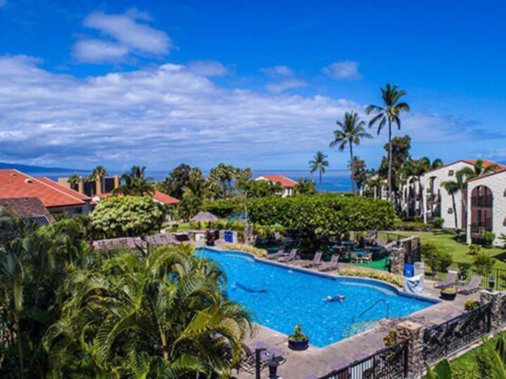 1BR/2BA Ocean View Maui Hill
