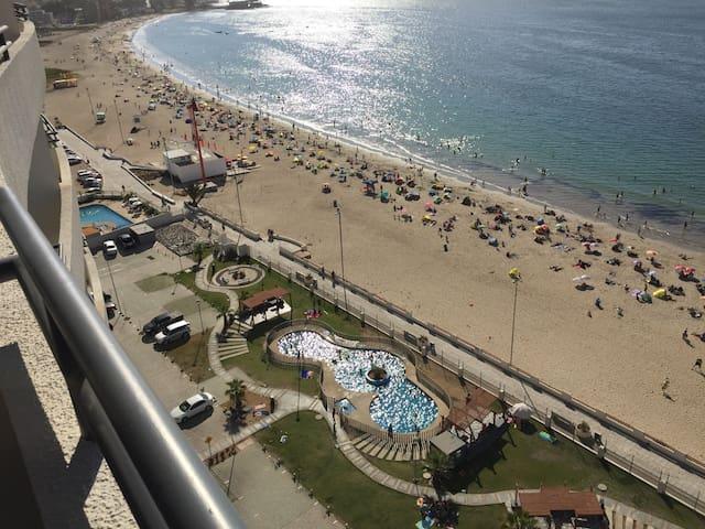 La playa a tus pies en la herradura Piso 16 - Coquimbo