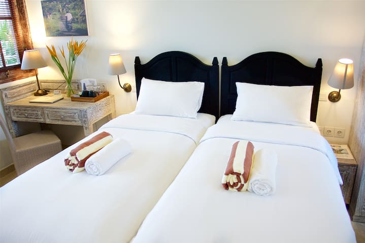 Superior Room with single beds in a Dive Resort
