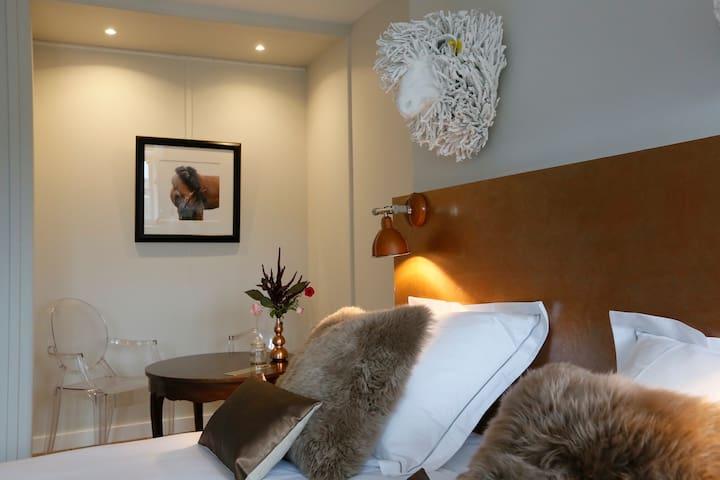 Chambre de charme à Beaumont en Auge - Beaumont-en-Auge - Apartament