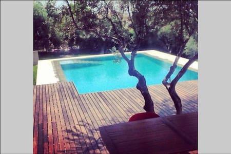 Υπέροχος ξενώνας με πισίνα - Κάτω Καστρίτσι