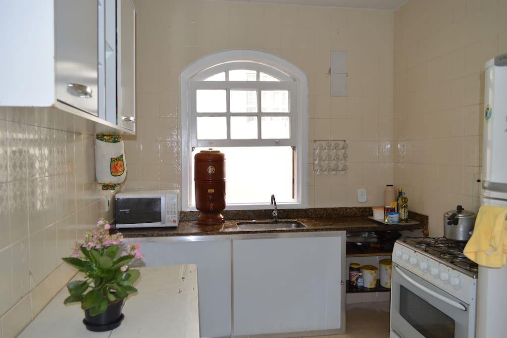 Nossa cozinha à sua disposição ;)