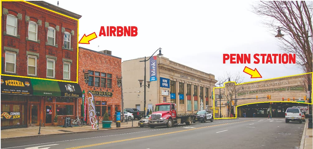 Perfect location! Steps to Newark Penn Station!!!