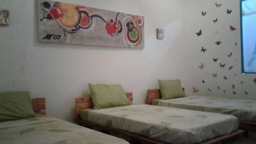 Shared Room, 4 beds - Santa Marta  - Huis