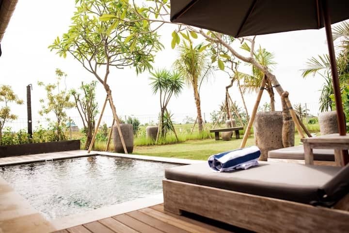 beautiful villa for honeymoon at canggu