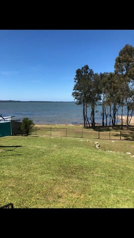 Positioned by Tuggerah lake