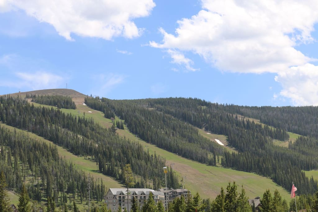 View of Andesite Mountain