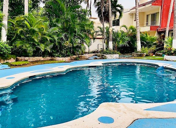 Villa Pilver/Descanso/Ubicacion/Comodidad/Familiar