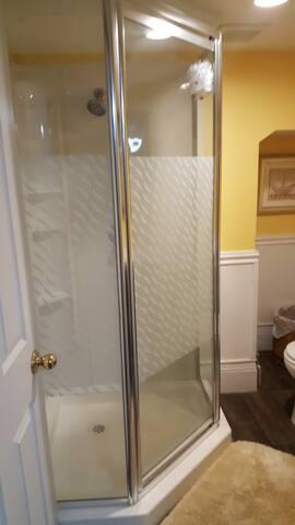 Shared Bathroom 1.5 Bath available on 1st floor as well