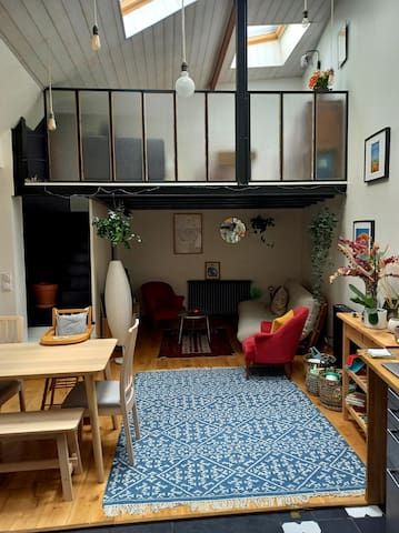 salon et mezzanine