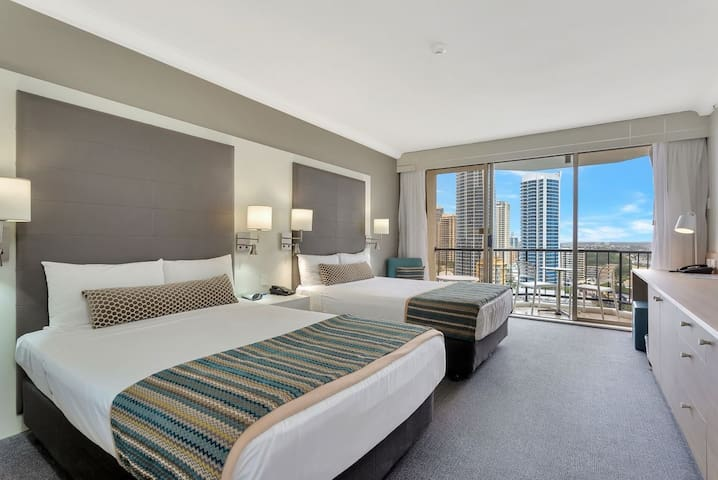 Your own private room in Mantra on View Hotel