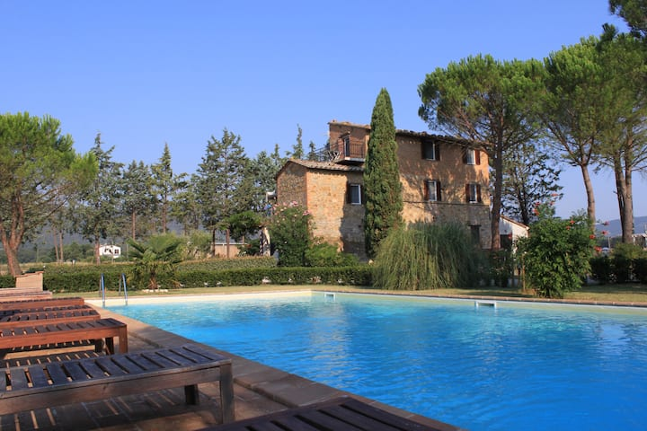 Luxery stay Umbrië/Toscane! Flexibel Cancelation!