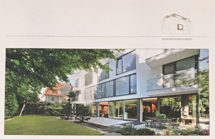 2 -MODERN DESIGN HOUSE NYMPHEMBURG - Munich - Hus