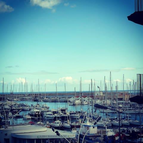 Panorama uscendo dal portone