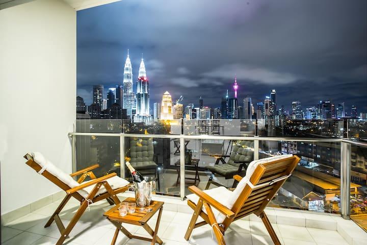 SETIA Sky *KLCC* - Premier Two Bedroom Suite #1 - Kuala Lumpur - Apartment