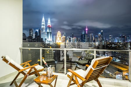 SETIA Sky *KLCC* - Premier Two Bedroom Suite #1 - 吉隆坡 - 公寓
