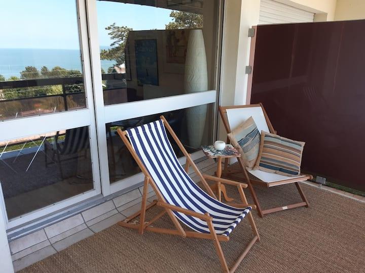 Appartement avec vue splendide sur mer !