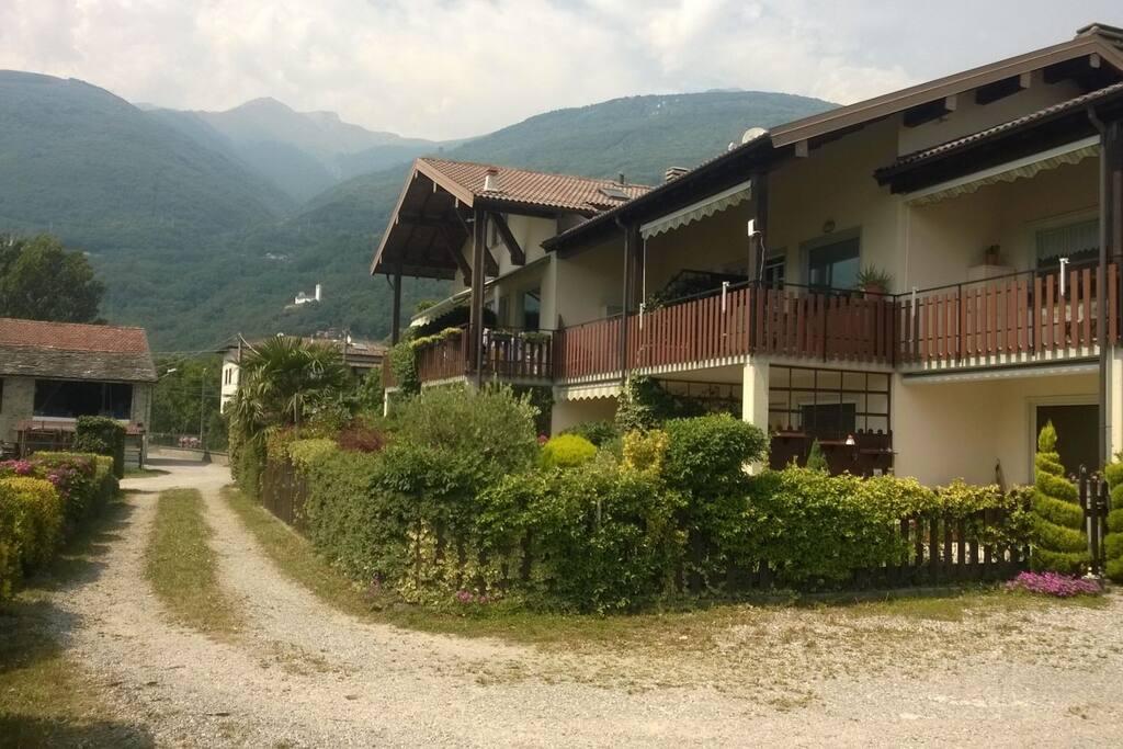 """Accesso """"Residence Casa Vacanze il Boschetto"""""""