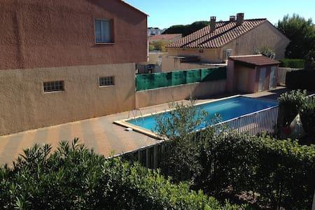 Studio terrasse et piscine - Canet-en-Roussillon - Byt