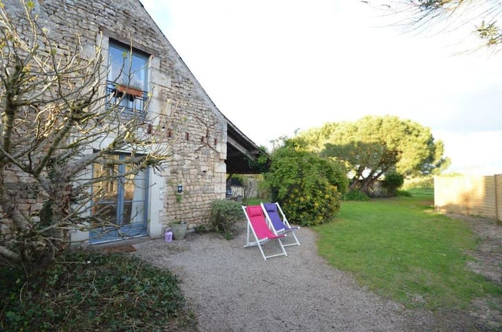 Cosy cottage in the Loire, with all the comfort. - Marcilly-sur-Vienne - Blockhütte