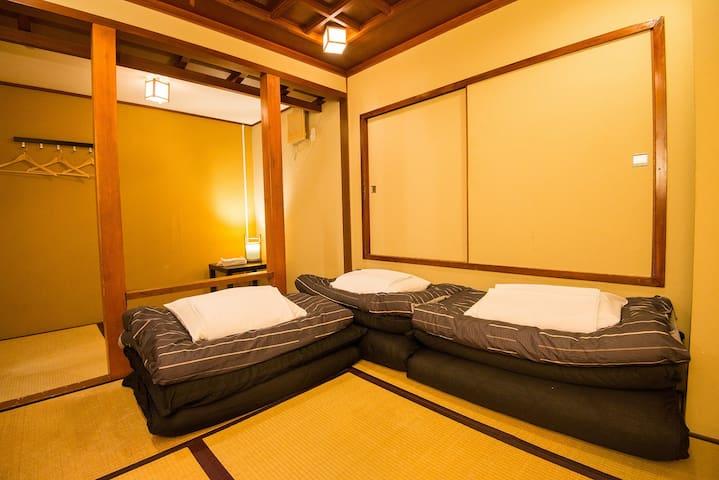 Triple Japanese room ASAKUSA COZY HOSTEL/3B