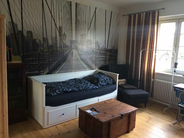 berlin treptow spacy&cosy room gemütlich im Grünen