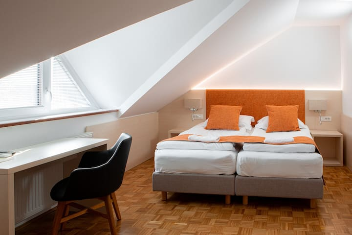 Double Room with extra bed at Guesthouse Vovko near Novo mesto