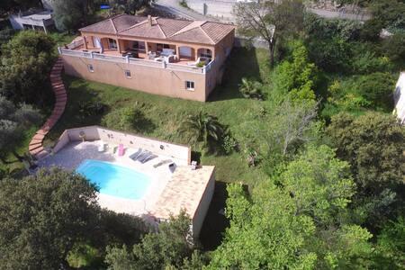 Chambre d'Hôte Corse du Sud splendide vue mer ! - Belvédère-Campomoro - Bed & Breakfast