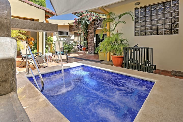 Full-Service Puntarenas Villa, Short Walk to Beach