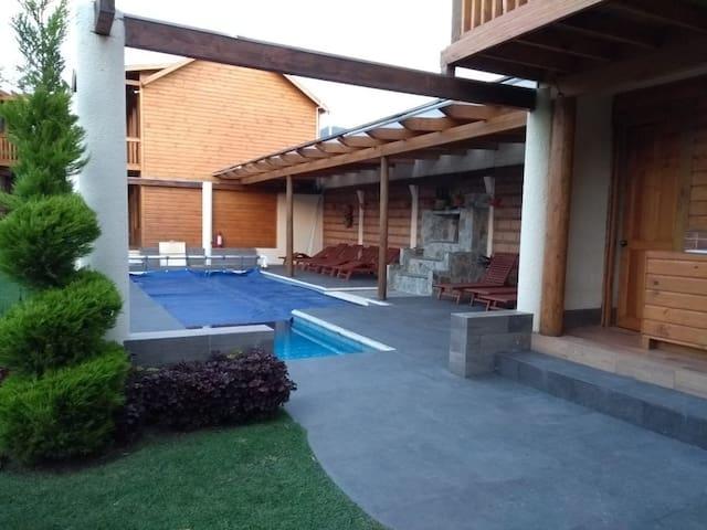 hotel cabaña IILLDAA