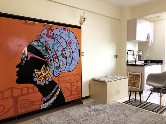 Tilili Studio Apartment in Kilimani