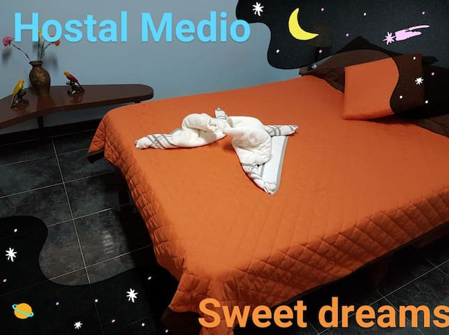 ☆Matanzas center☆Hostal Medio: 3 priv rooms&baths