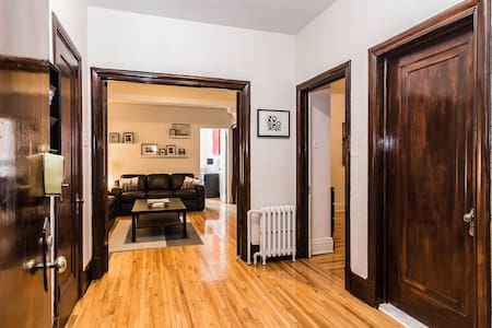 Lovely 3 Bdr with terrace in Côtes-des-Neiges area - Montréal