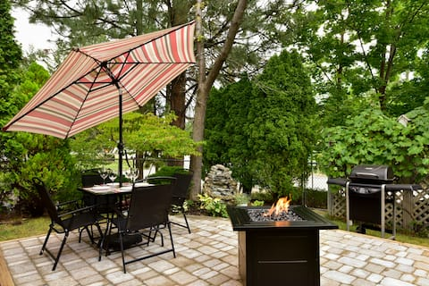 Spacious, charming & private suite on Wine Trail