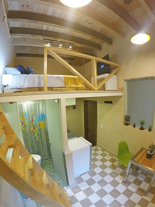 Vista general del Miniloft