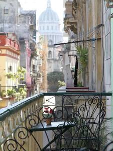 Apt. 1 old Havana HavanaRooms - La Habana