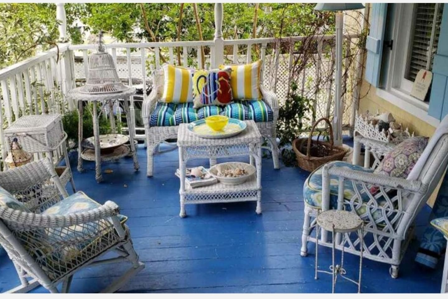 Relax on our great porch.