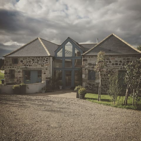 Large beautiful house in rural location