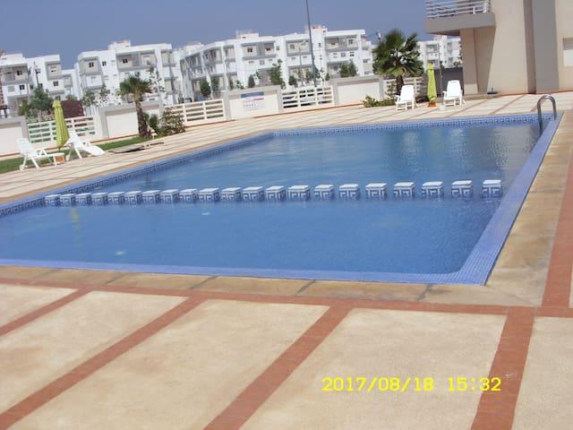 Appartement avec piscine à Saidia
